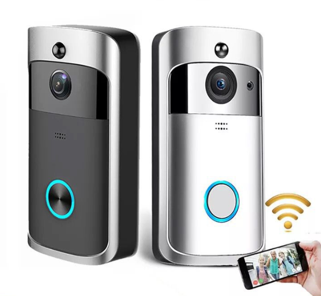 Video Doorbell Smart Wireless WiFi Security Door Bell Visual Recording Home Monitor Night Vision Intercom door phone
