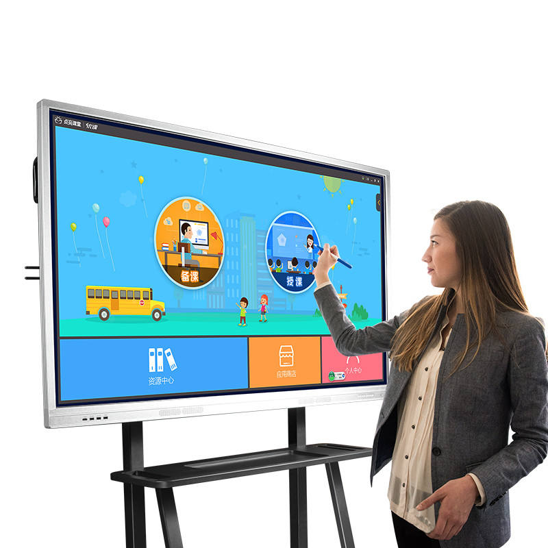 Education equipment large screen 65 inch electronic white board ir touch interactive whiteboard for classroom office