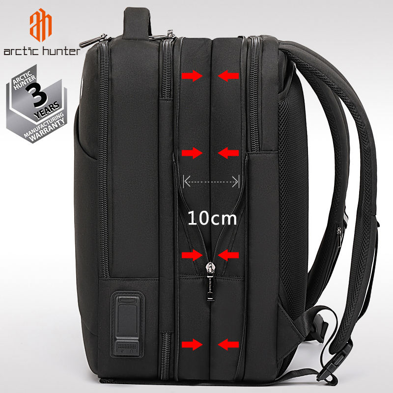 sac a dos homme Expandable Durable Backpack travel bag pack USB Male large Capacity Travel Backpacks Business Mochila for men