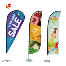 Advertising Flying Beach Flag Banner Promotion wind Feather Flag