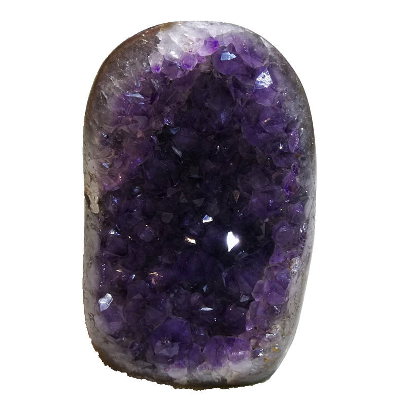 Wholesale fengshui home decor natural furnishing articles small Amethyst Geode