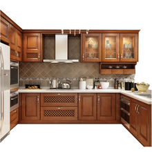 CBMMART customized solid wood kitchen cabinet