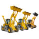 CE 2ton 3ton 5ton 6ton Mini Tractor Backhoe Loader small backhoe 4x4 with attachment back hoe for Sale philippines
