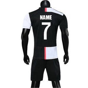 2019 2020 Wholesale Quick Dry Cheap Soccer Tracksuit Uniform Custom Sportswear Sublimation Football Jersey