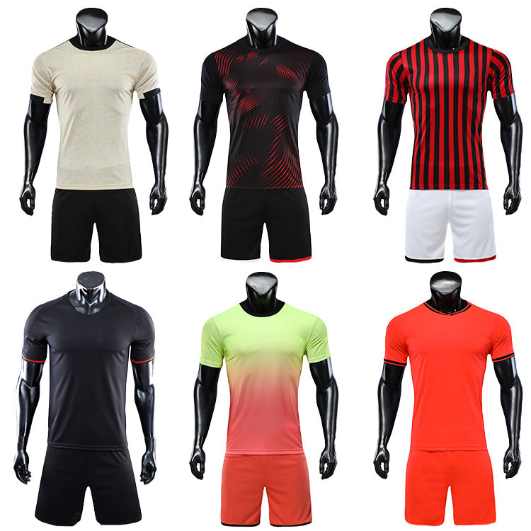 2019-2020 orange soccer uniforms jersey men football shirt