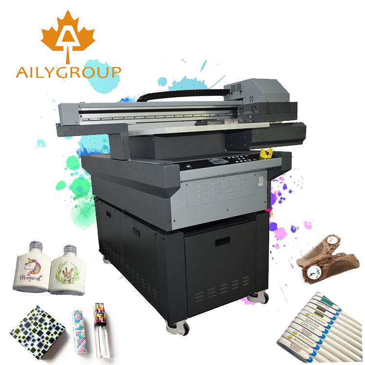 Embossing effect a5 uv ink printer digital flatbed printing machine
