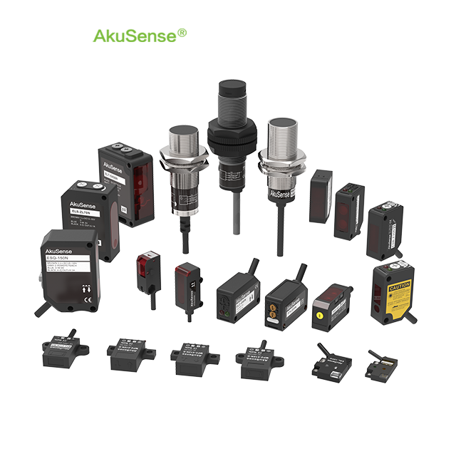 AkuSense Photoelectric sensor Capacitive sensor Inductive proximity sensos Fiber Optic Sensors for Mask Machine