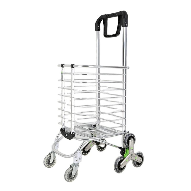 Carrello Home Depot Grocery Bag Carts Supermarket Shopping Trolleys Folding Shopping Cart for Walmart