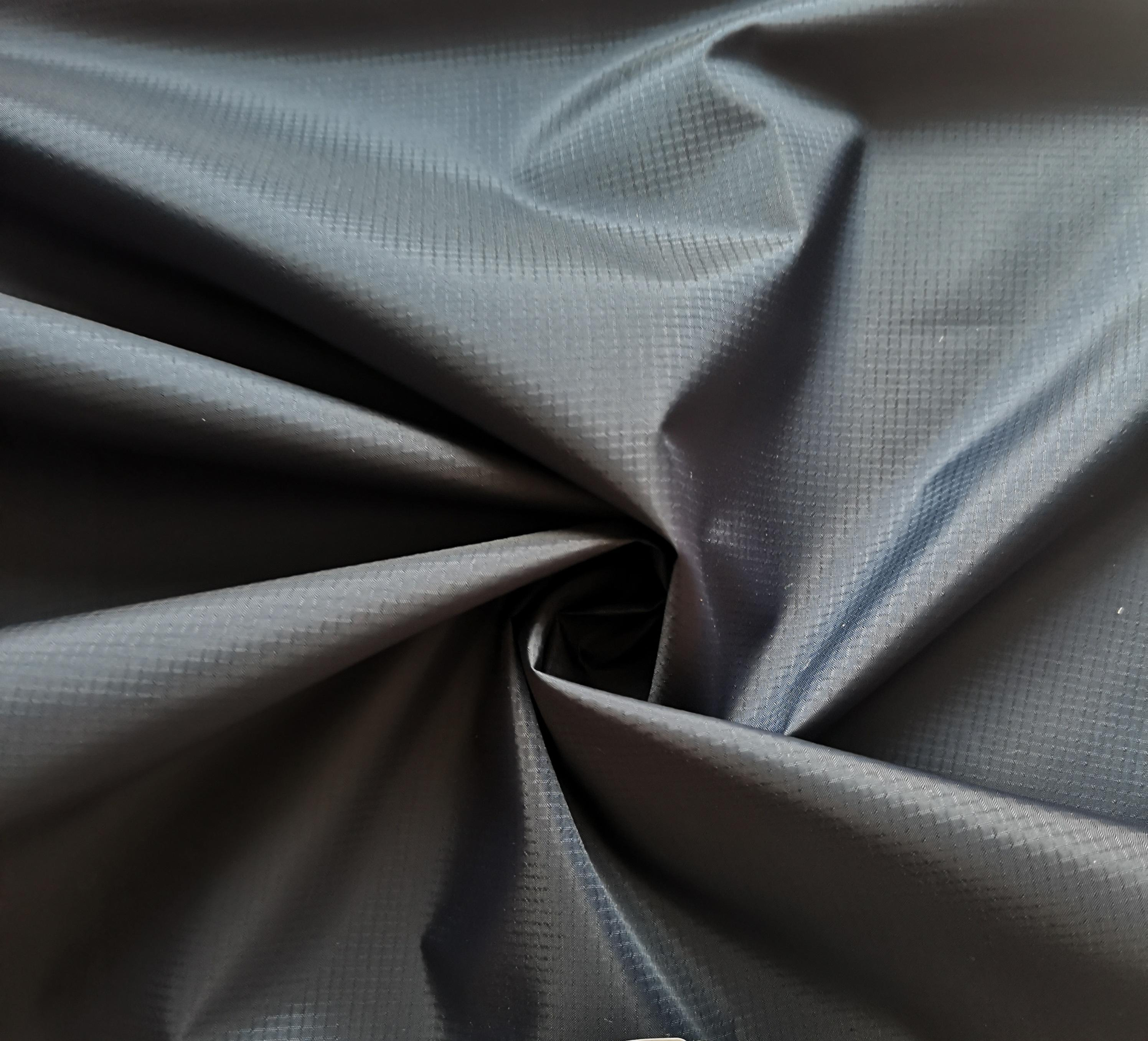 100% Polyester Fabric rib stop for downproof lamination Waterproof Technics Style Time