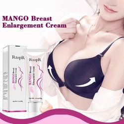 Mango Women Full Elasticity Chest Care Firming Lifting Breast Fast Growth Cream Big Bust Body Cream Breast Enlargement Cream