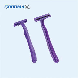 Guaranteed Quality Disposable Twin Blade Lady Body Hair Shaver Razor