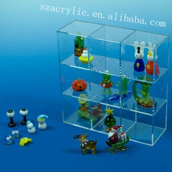 hot sale acrylic toy display rack/custom perspex toy showing stand