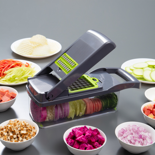 Kitchen accessories hot sell Amazon new gadgets fruit and Vegetable Chopper Slicer cutting tool manual Vegetable Cutter