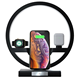 Pad Apple 3 Wireless Charger Led Lamp With Charging Station Pad 31W Fast Charge Wireless Charging Charger Dock Station 3 In 1 For Apple Watch And Phone