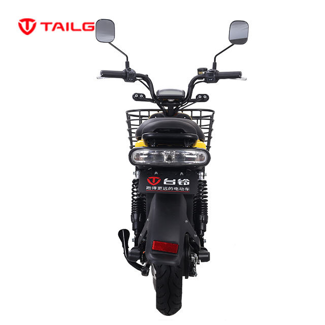 Takeaway take-out food delivery electric bicycle with large box