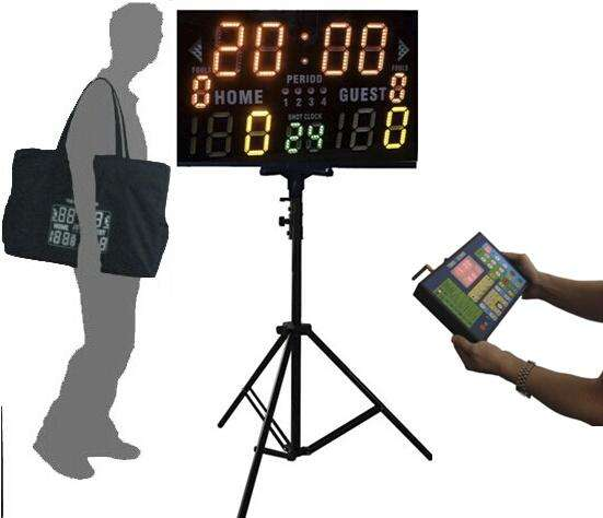 Good quality with competitive price LED basketball scoreboard