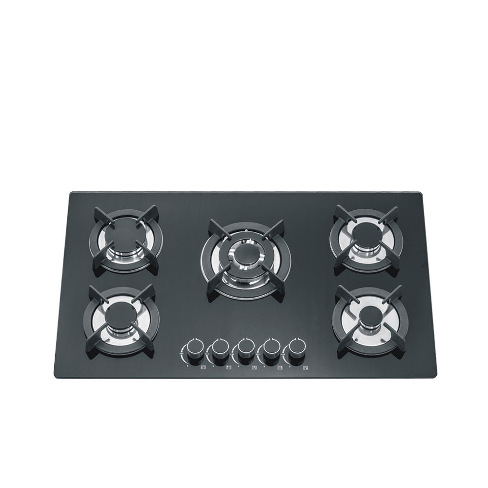5 burners home appliance kitchen recessed gas stove cooker gas hob