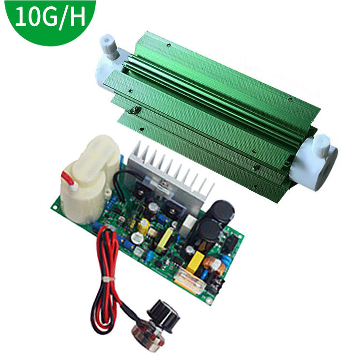 10G Quartz Tube Generator water pool waste ozone water treatment With adjustable Power Supply