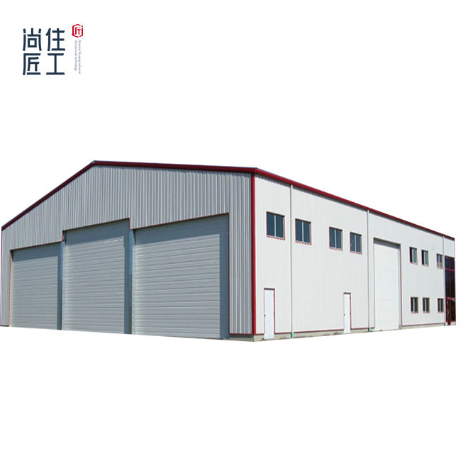 Prefabricated Clear Span Steel Structural Buildings