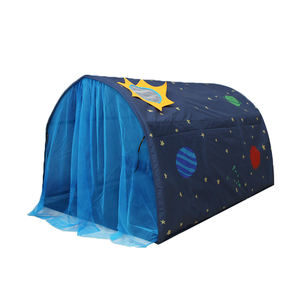 New Style Peach Skin Kids Bed Tent With Mosquito Net Indoor Tunnel Tent For Kids Tent