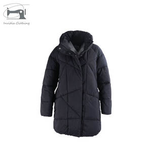 New season Black Thin And Light Winter Heavily Padded Ladies Jackets And Coats