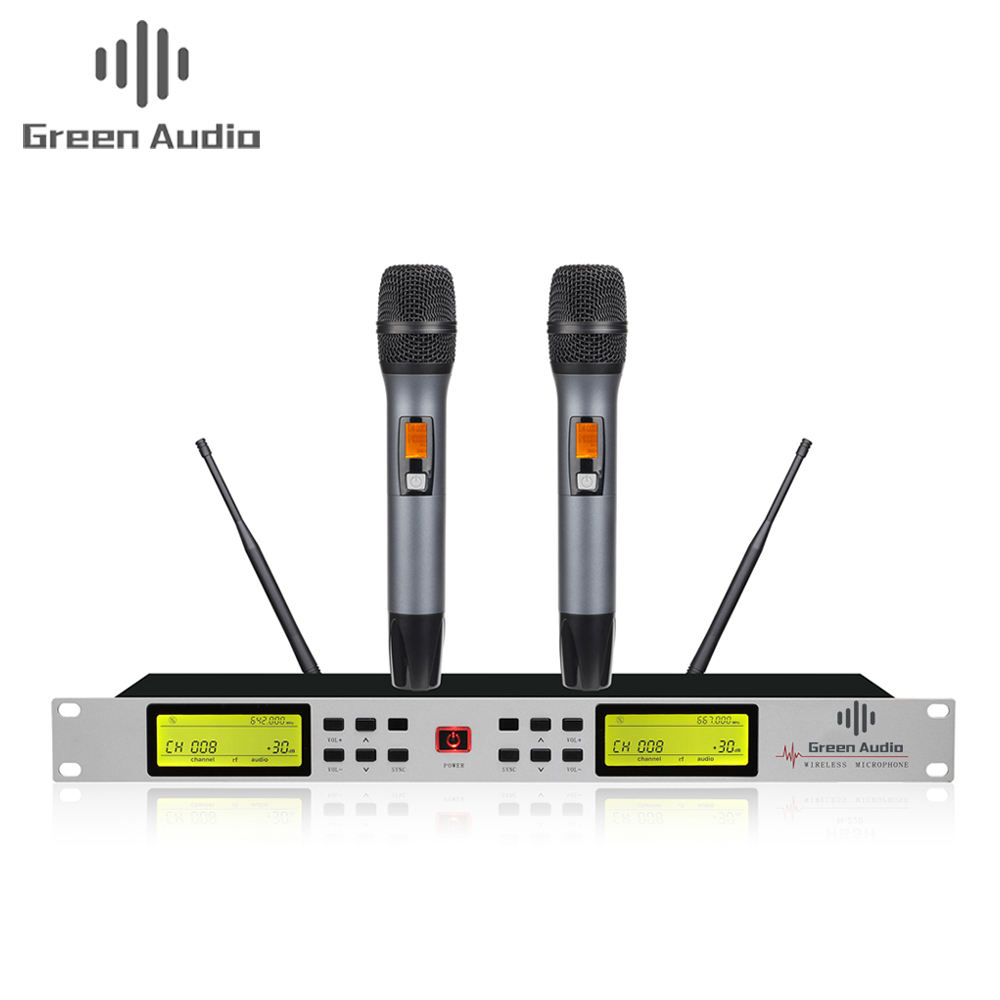 GAW-SLX4 High Quality Diversity receiver UHF wireless microphone