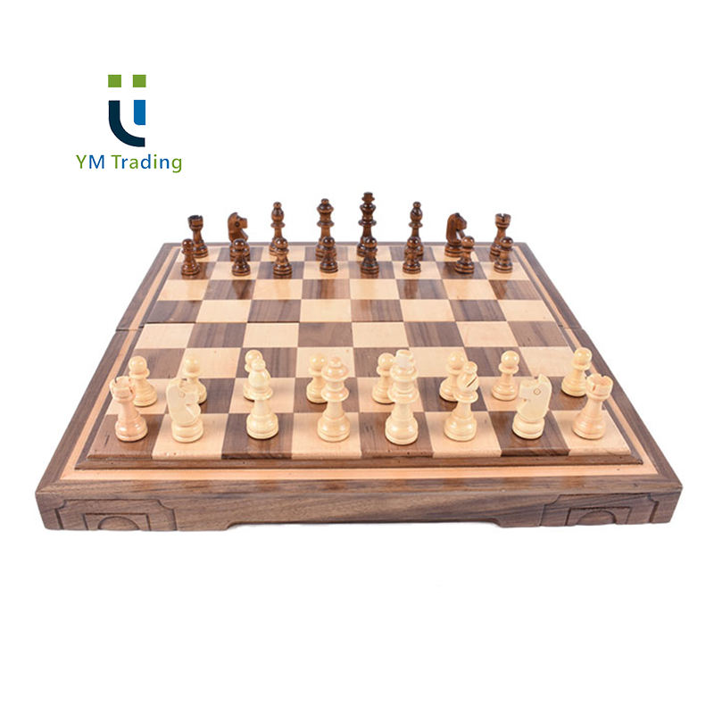 Travel Chess Set with Chess Board Educational Toys for Kids /& Adults Pink