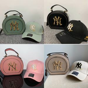 Wholesale price fashion luxury new york cotton baseball caps hat and ny purses for women