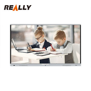 Really Supplier LCD 75inch 4k HD Writing Drawing Board Smart Digital Interactive Whiteboard Prices For Kids