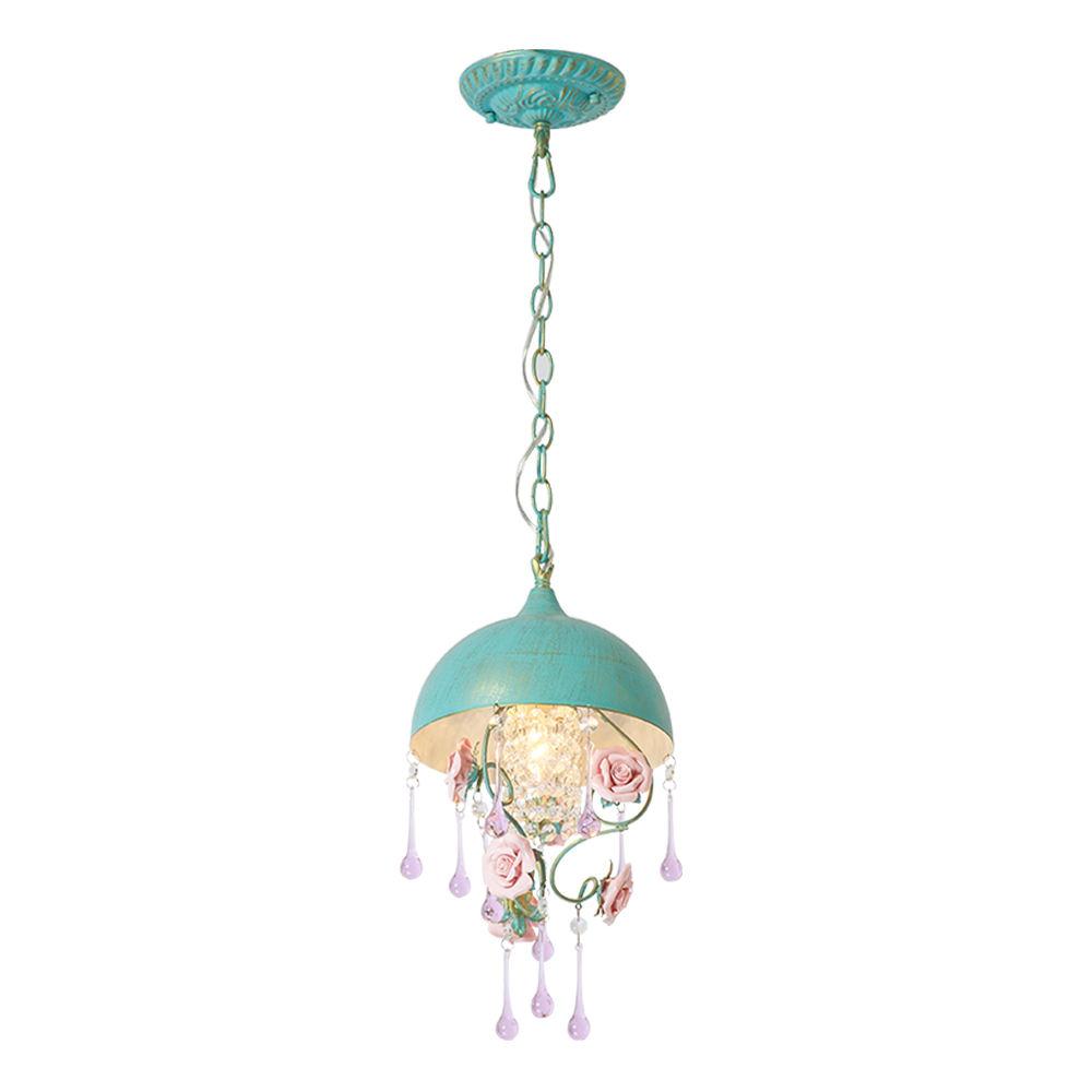 bangladesh importer chain suspension modern tiffany blue chandelier pendants