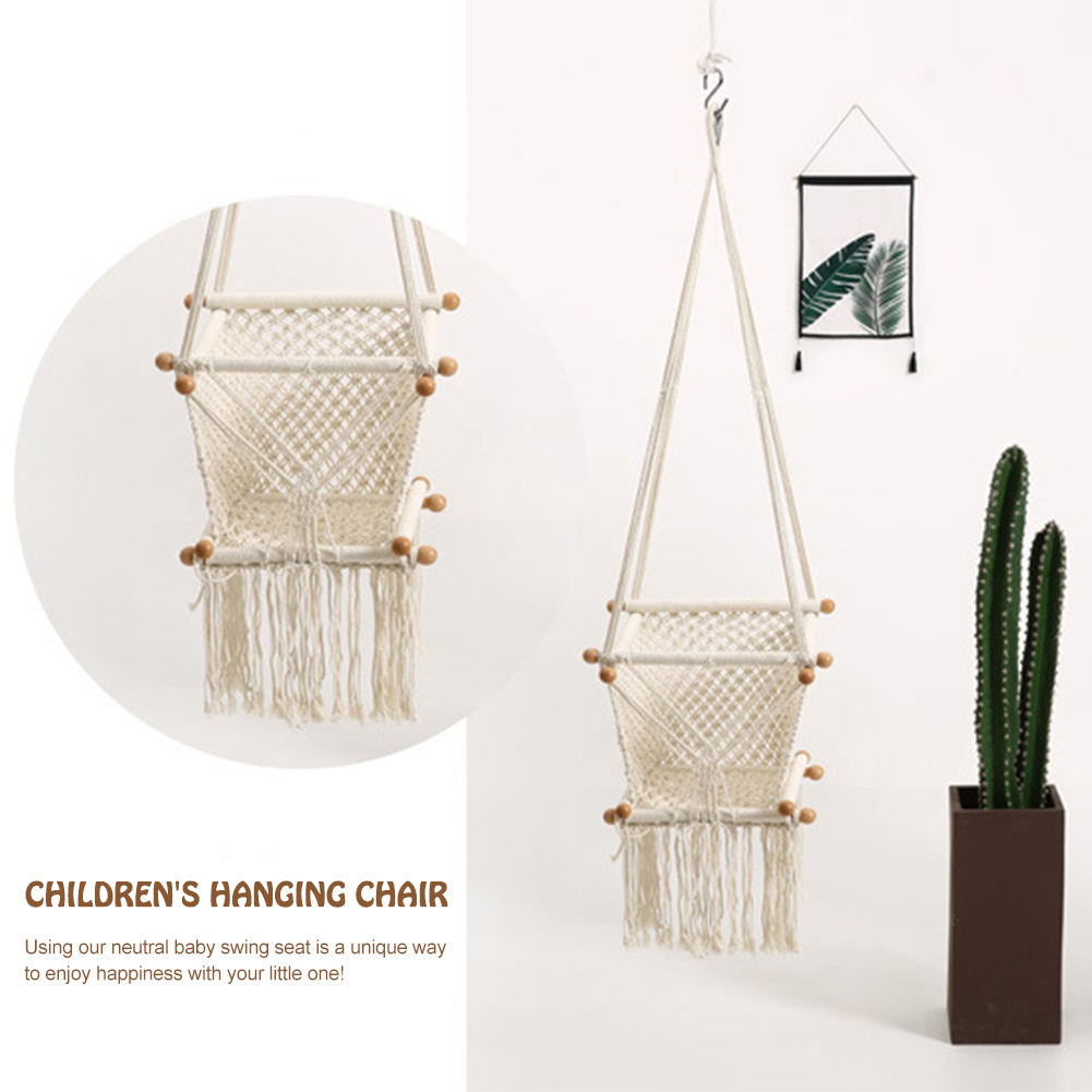 Baby Hanging Swing Seat Hammock Chair for Infant Toddler Home Decoration