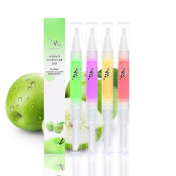 15 Fruity Flavors Nail Art Manicure Treatment Soften Pen Nail Cuticle Oil Pen Cuticle Revitalizer Nutrition Oil Tool