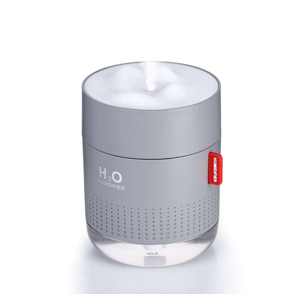 SmartDevil Small Humidifiers 500ml Desk Humidifiers Whisper-Quiet Operation Night Light Function Two Spray Modes