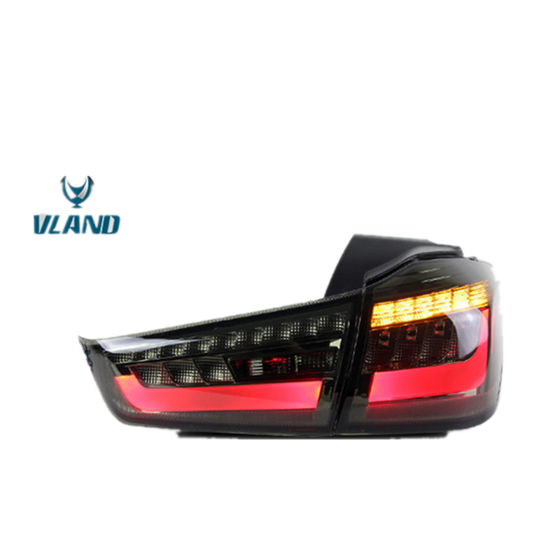 LED DRL Taillights FOR MITSUBISHI ASX//OUT Lander Sports 2010-2015 Rear Lights