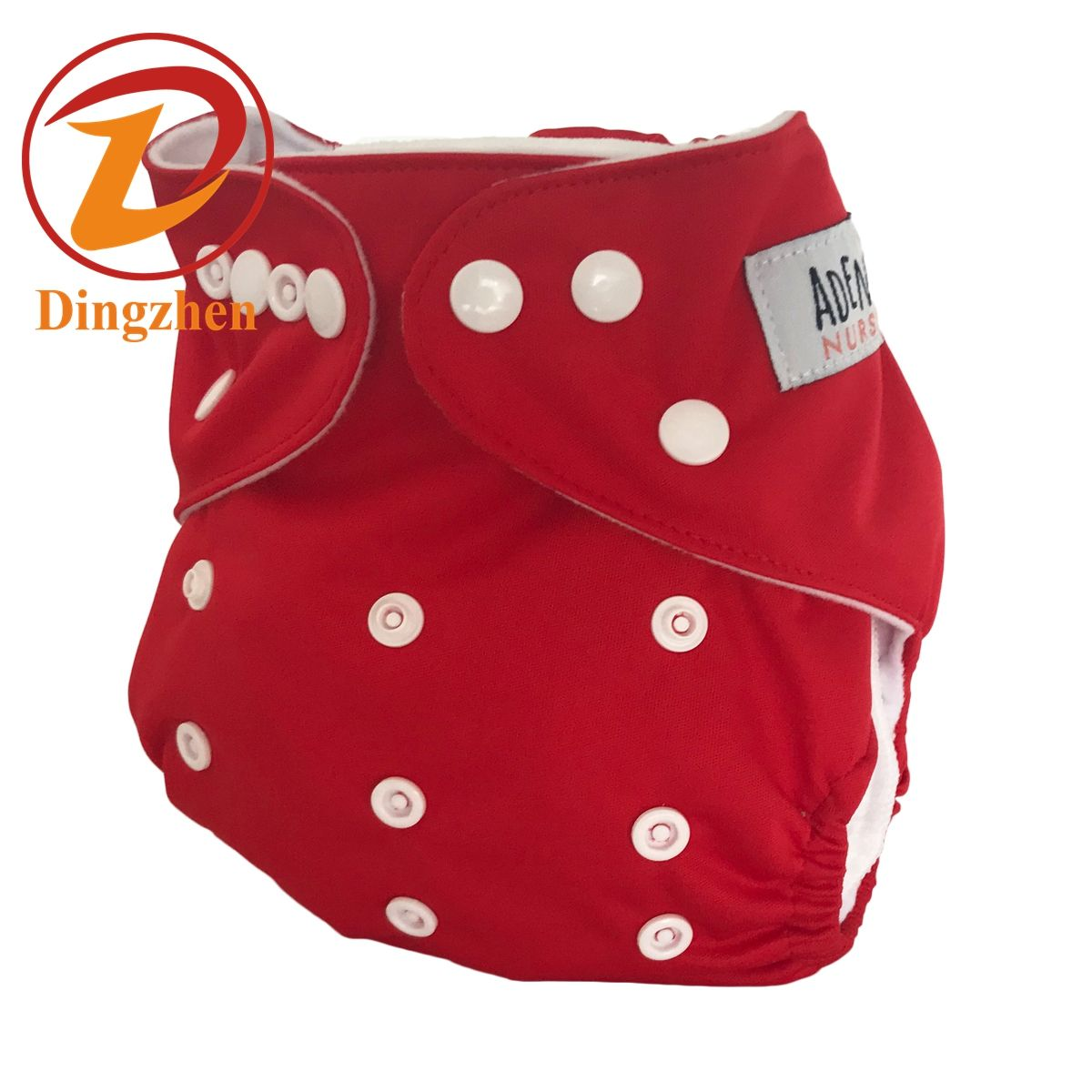 Solid Color Baby diapers Soft Breathable Qrganic High Quality Waterproof Pocket Cloth diaper