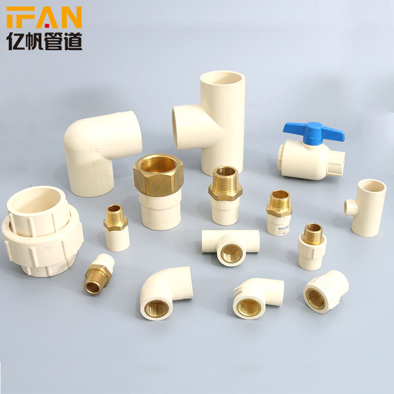 Plastic Pipe Manufacturer Wholesale CPVC Pipe Fitting 90Degree Elbow CPVC ASTM2846 PVC Pipe Fitting