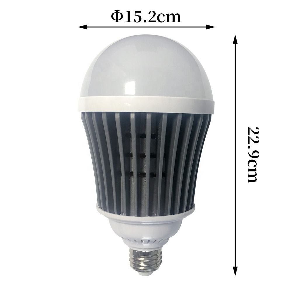 High Power 75W 100watt Plastic Aluminum Energy Saving Lights LED Bulb for Garage Factory Lighting