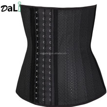 25 Steel Boned Slimming Latex Fitness Body Shaper Waist Trainer 3 Hook