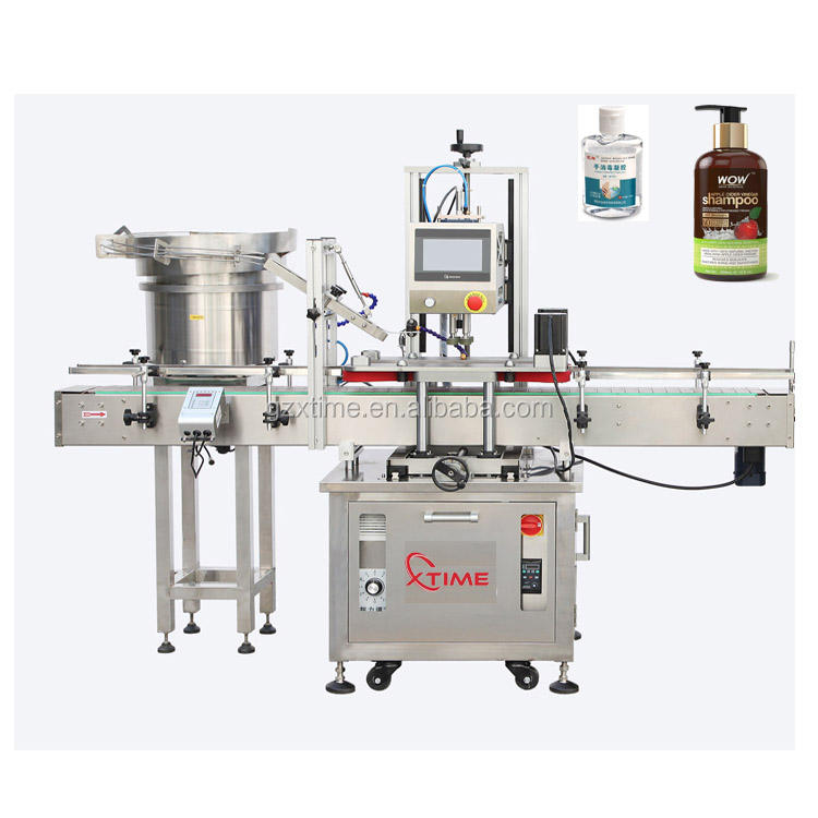 Automatic rotary filling machine for perfume / cream lotion liquid makeup filler and capper