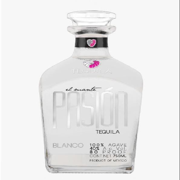 Alcoholic beverages distilled liquor El Mante Pasion Blanco Silver Tequila