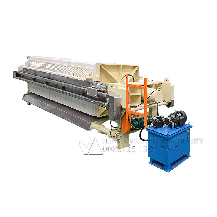 Modern design plate and frame filter press machine drawing filter press hydraulic power pack system hydraulic press for filter