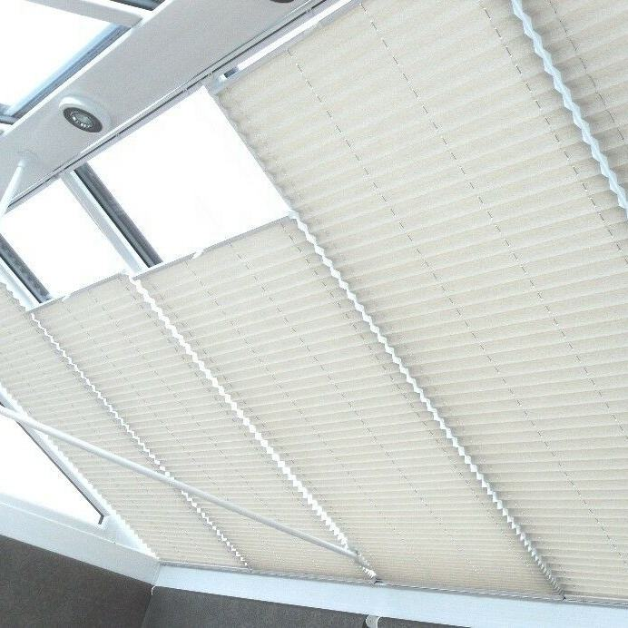 Perfect Fit Bespoke Thermal Conservatory Pleated Honeycomb Window Roof Blinds Electronic