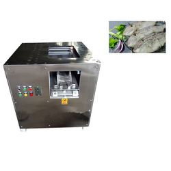 Different Thickness Fish Slicer Automatic Fish Cutting Machine