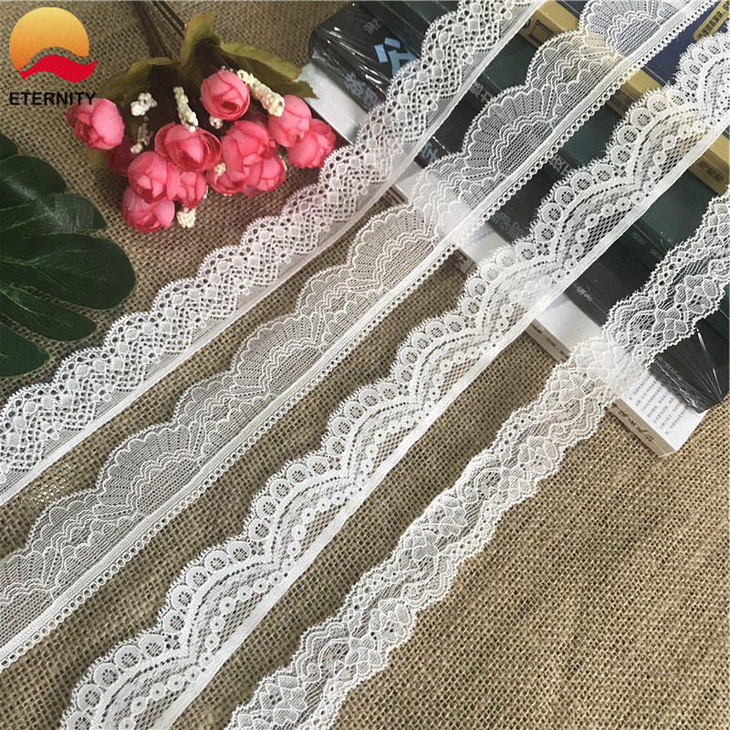 2.8-3.7cm S2137 soft romantic African lace lace gathering alencon fabric for a fancy wedding dress