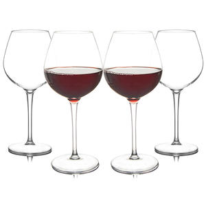 Feiyou wholesale custom 401-500ml unbreakable tritan plastic clear goblet wine glass personalized red wine cup glasses