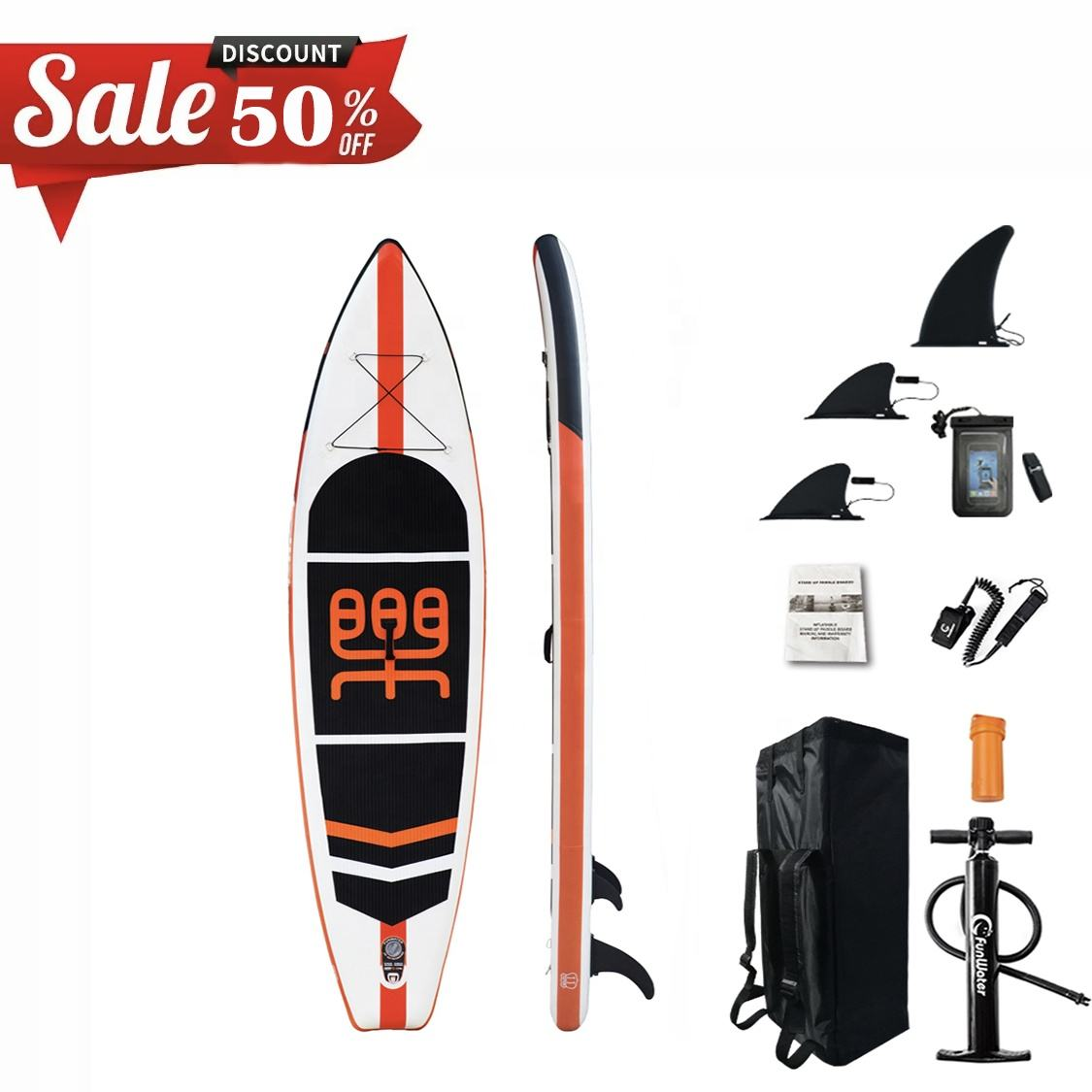 Inflatable sup board oem surf paddle sup board paddle inflatable power surfboard