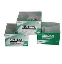"Kimberly-Clark Kimtech Science Kimwipes Delicate Task Disposable Wiper 8-25/64"" Length x 4-25/64"" Width"