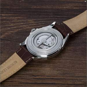 Luxury Watch Wholesale Leather Automatic Watch for Men
