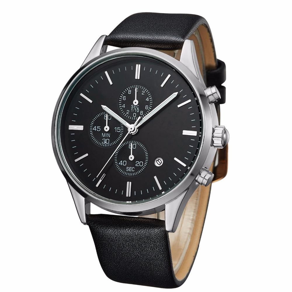 Best selling fashion multi-function chronograph 6 hands auto date watches men luxury brand automatic