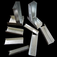 Supplies zinc galvanized metal stud and track for gypsum board partition